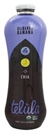 Telula - Organic Fruit Juice Beverage Bilberry Banana + Chia - 32 oz.