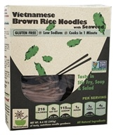 Vietnamese Brown Rice Noodles with Seaweed