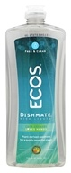 ECOS Dishmate Dish Liquid Free and Clear