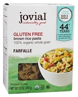 Gluten Free Brown Rice Farfalle Pasta