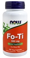 Fo-Ti Herbal Supplement - Ho Shou Wu