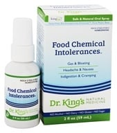 Dr. Kings Homeopathic Natural Medicine Food Chemical Intolerances