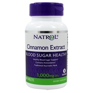Natrol - Cinnamon Extract 1000 mg. - 80 Tablets