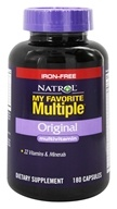 My Favorite Multiple Original Multivitamin Iron-Free