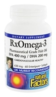 Dr. Murray's RxOmega-3 Factors EPA 400mg / DHA 200mg