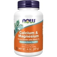 Calcium and Magnesium Citrate Powder