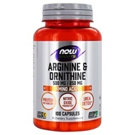 L-Arginine and Ornithine 500/250 mg