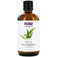NOW Foods - Eucalyptus Oil - 4 oz.
