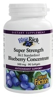 Blue Rich Super Strength Blueberry Concentrate