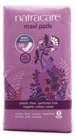 Organic Cotton Natural Feminine Maxi Pads Night Time Long