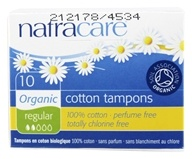 Organic 100% Cotton Tampons Regular