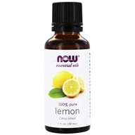 NOW Foods - Lemon Oil - 1 oz.
