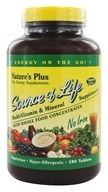 Source Of Life Multi-Vitamin & Mineral No Iron