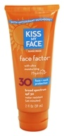 Face Factor Face + Neck Water-Resistant Sunscreen Paraben-Free