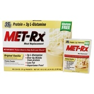 MET-Rx - Meal Replacement Protein Supplement Powder Original Vanilla - 40 Packet(s)