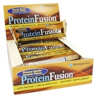 Metagenics - ProteinFusion High Protein Low Glycemic Bar Peanut Butter Crunch - 12 Bars