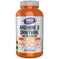 Arginine & Orthinine 500/250 mg