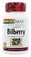 Guaranteed Potency Bilberry Extract