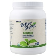 Better Stevia Zero Calorie Sweetener Certified Organic Extract Powder