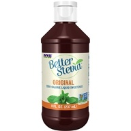 NOW Foods - Better Stevia Liquid Extract - 8 oz.