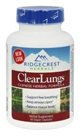 ClearLungs Chinese Herbal Formula