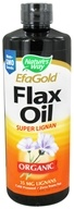 Organic Liquid Flax Oil Super Lignan