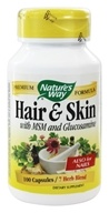 Hair and Skin Formula with MSM and Glucosamine