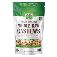 Organic Whole Raw Cashews