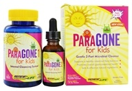ParaGONE for Kids I and II 2 Part Internal Cleansing System