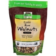 Certified Organic Walnuts Whole Raw Halves and Pieces