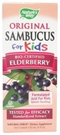Original Sambucus For Kids Bio-Certified Elderberry Syrup