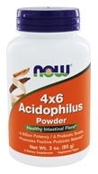 Acidophilus 4x6 (4 Billion Potency, 6 Probiotic Strains)