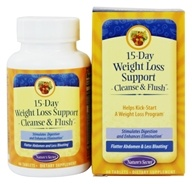 Nature's Secret - 15-Day Weight Loss Cleanse & Flush - 60 Tablets
