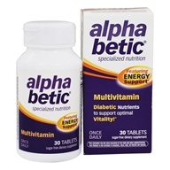 Alpha Betic Specialized Nutrition Multivitamin Plus Extended Energy