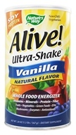 Alive Soy Protein Ultra-Shake Whole Food Energizer