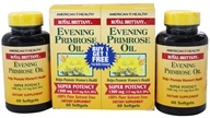 Royal Brittany Evening Primrose Oil Super Potency (60+60) Twin Pack Special