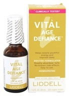 Liddell Laboratories - Vital Age Defiance Homeopathic Oral Spray - 1 oz.