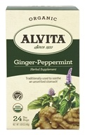 Organic Ginger-Peppermint Tea Caffeine Free