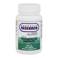 Advanced Research - Magnesium Orotate 500 mg. - 100 Tablets