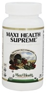 Maxi Health Supreme High Potency Multi-Vitamin/Mineral