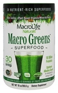 Macro Greens Nutrient Rich Super Food Supplement