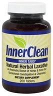 InnerClean Inner Tabs Natural Herbal Laxative