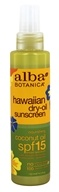 Alba Hawaiian Coconut Dry Oil Natural Sunscreen
