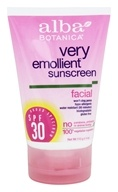 Very Emollient Natural Protection Facial Sunblock