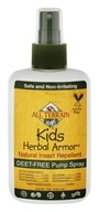 Herbal Armor Kids Insect Repellent Deet-Free Pump Spray