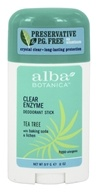 Clear Enzyme Deodorant Stick