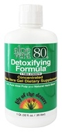 Lily Of The Desert - Aloe Vera 80 Detoxifying Formula Concentrated Aloe Vera Gel - 32 oz.