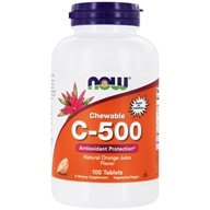 Vitamin C-500 Chewable Antioxidant Protection