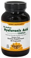 Bio-Active Hyaluronic Acid Complex Featuring Clinically Proven Hyal-Joint