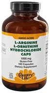 L-Arginine L-Ornithine Caps Amino Acid Complex with Vitamin B-6